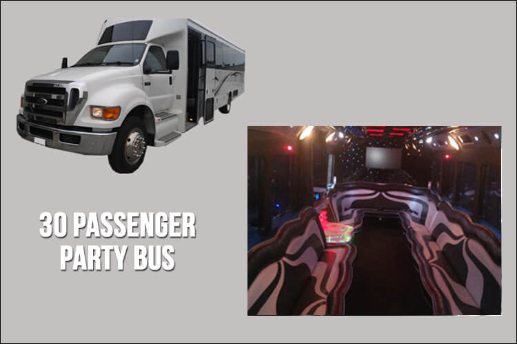 Limo and Party Bus Fleet - Party Bus Toronto